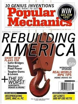 Popular Mechanics magazine poster